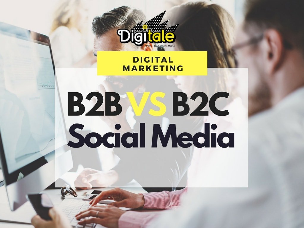b2b vs b2c social media marketing